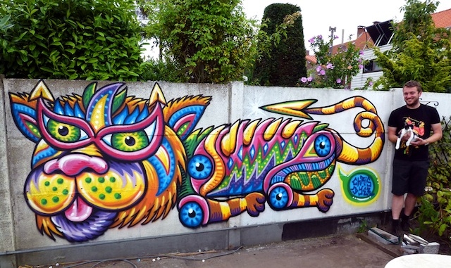 Mop the Cat n Stijn WEB
