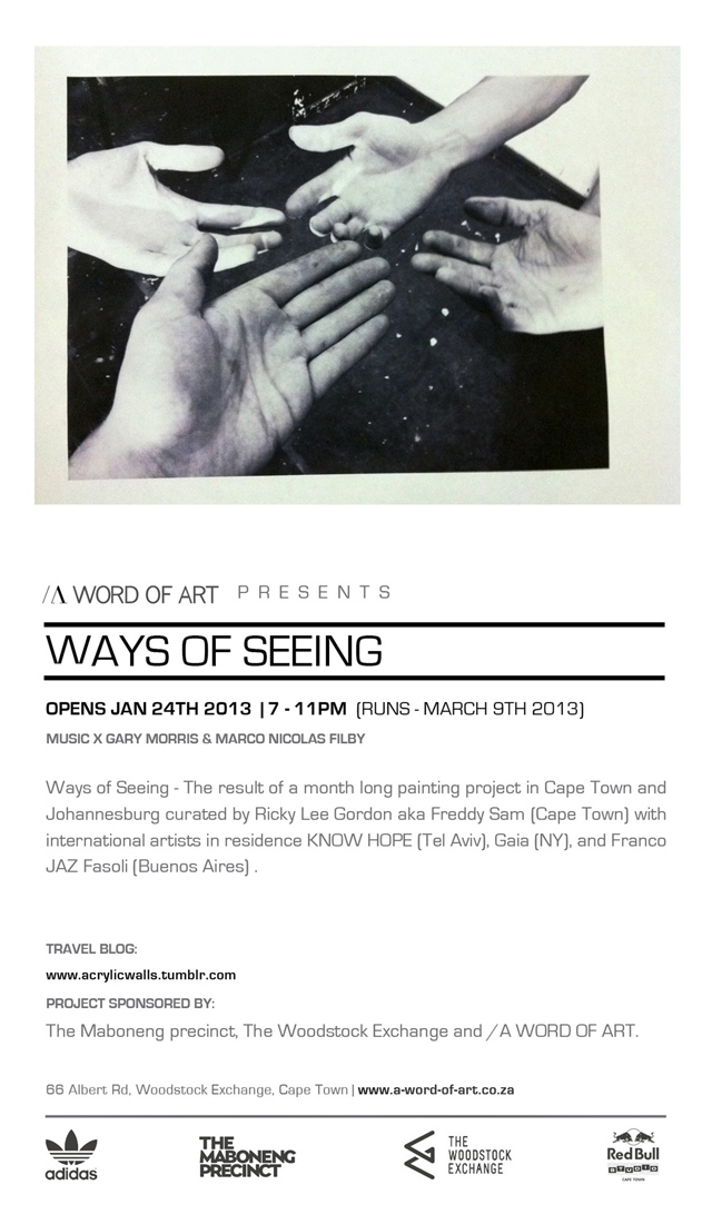 WEB WAYS OF SEEING FLYER