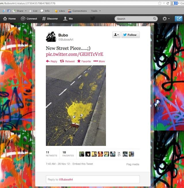 spongbob tweet