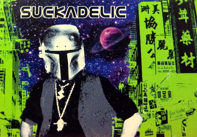 Collectible Suckadelic trading card