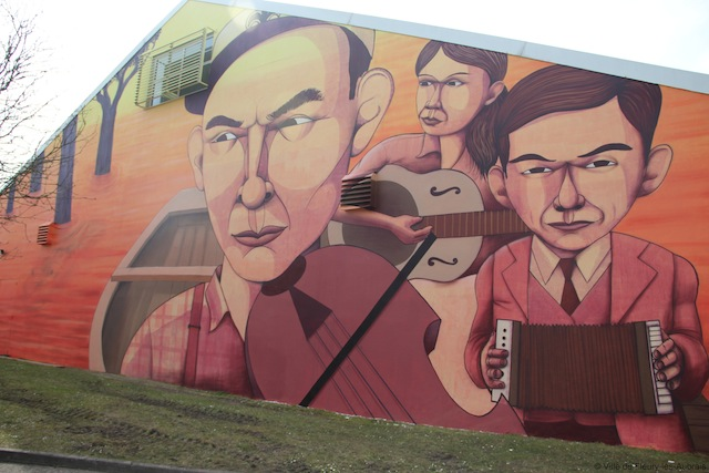 """The American Cousins"" by Cekis in Fleury-Les Aubrais, France"