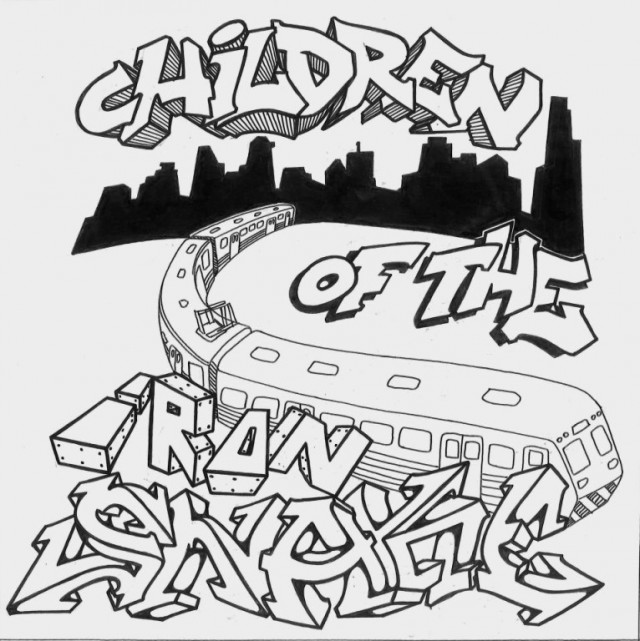 Children of the Iron Snake - Cover