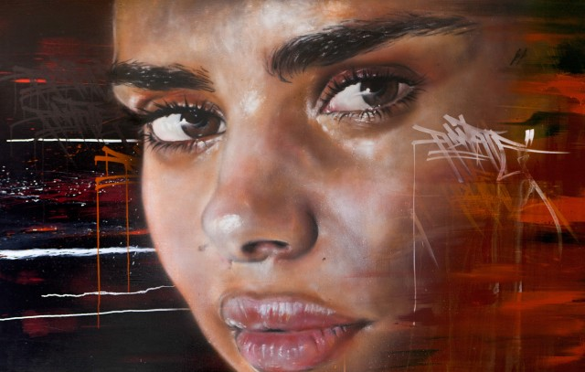 Adnate's entry for the Archibald prize