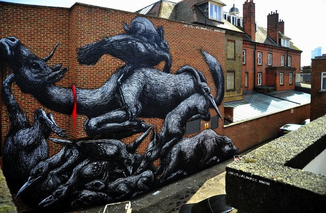 Roa in London