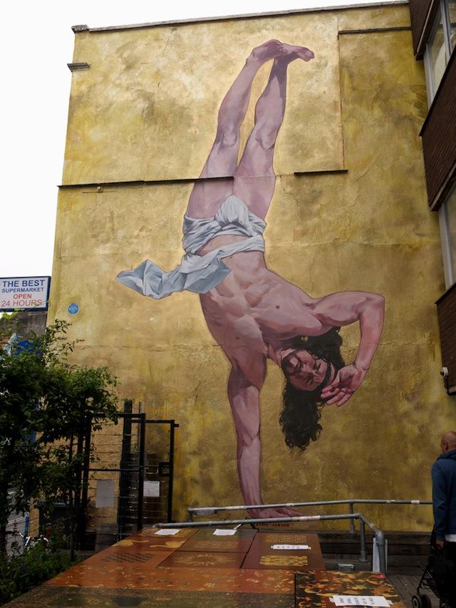– down  Vandalog breaking Bristol Jesus – A it in Street
