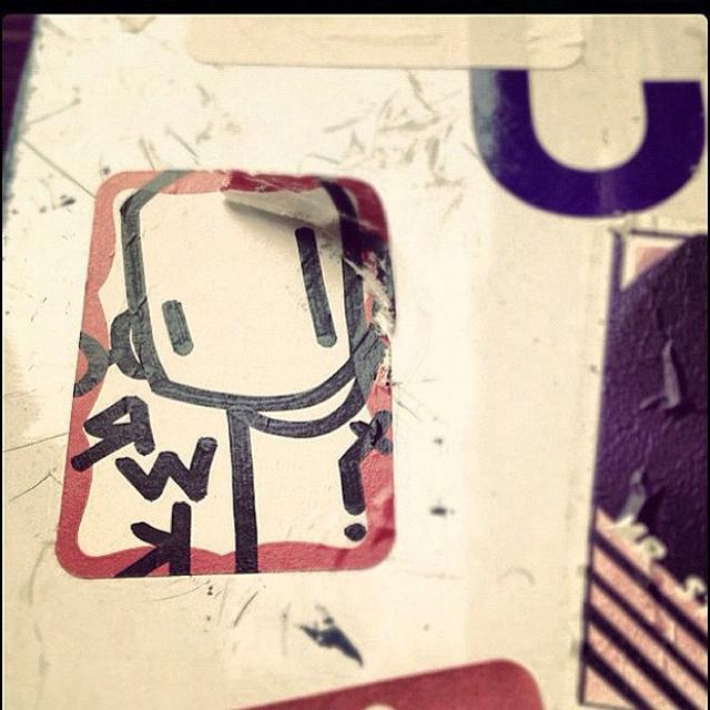 sticker shot
