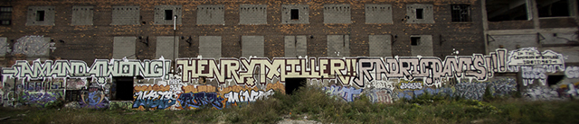 Droid 907 in Detroit. Photo by Phil Conners
