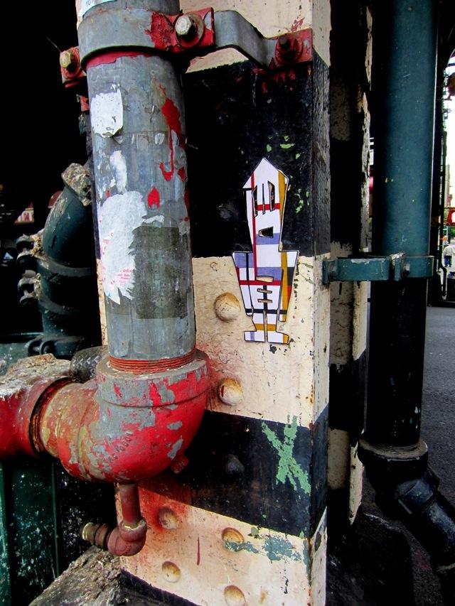 Stikman in Brooklyn. Photo by Stikman.
