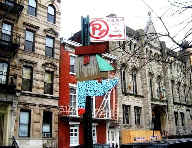 In East Village, 2013
