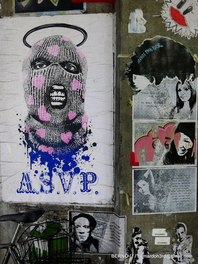 ASVP and others in Zurich, Switzerland. Photo by Bernard Oh.
