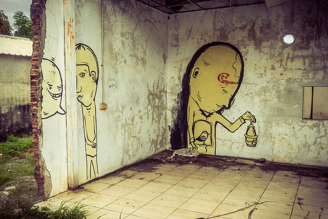 Unknown artist in Taimali, Taiwan. Photo by Alexander Synaptic.