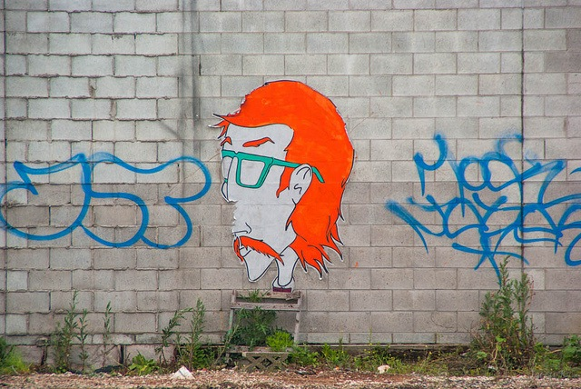 Unknown artist in Christchurch, New Zealand. Photo by Jocelyn Kinghorn.