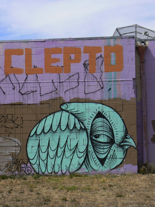Clepto and Ghost Owl. Photo by Brian Knowles