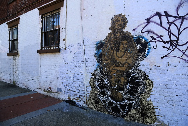 Swoon in NYC. Photo by Luna Park.