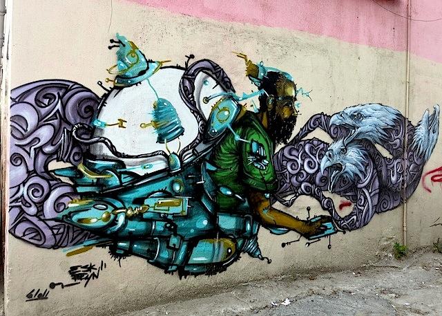 Local artist Eskreyn