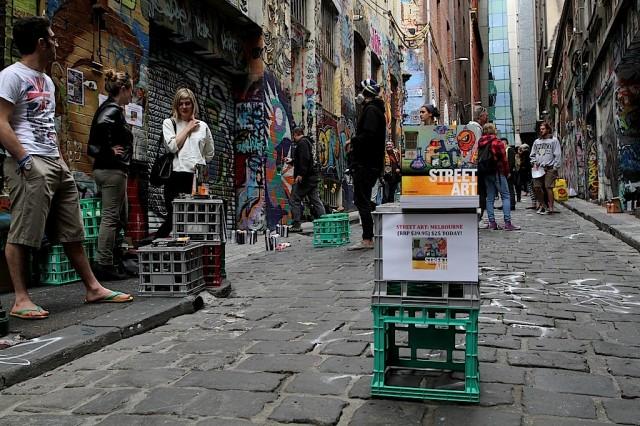 Lou Chamberlin - Street Art Melbourne Launch