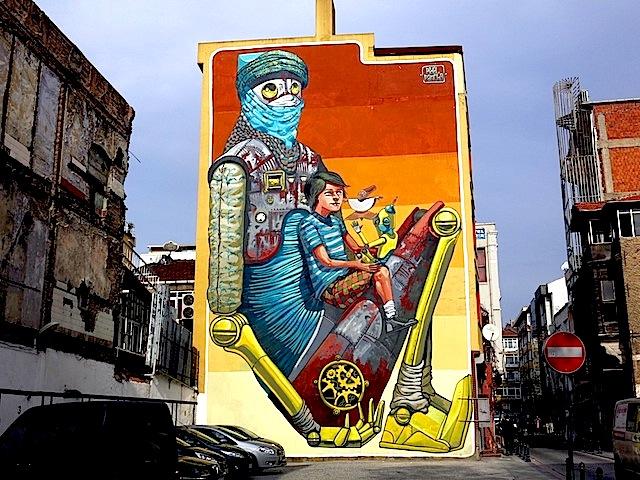 Italian artist Pixel Pancho