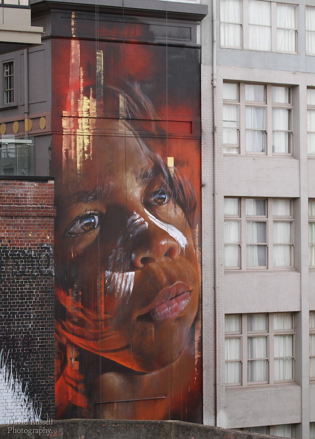 Adnate - Paint UP - Hosier Lane