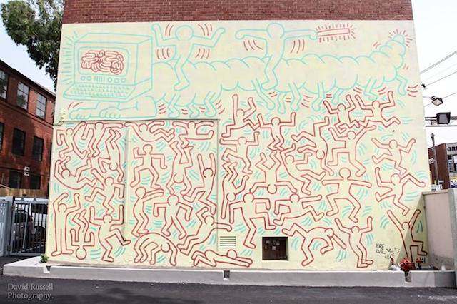 Keith Haring (restored) - Photo by David Russell