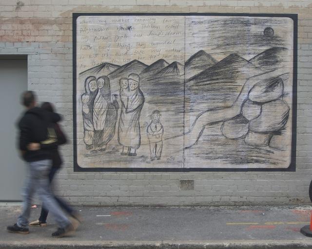 Original drawing by Ali Rezai