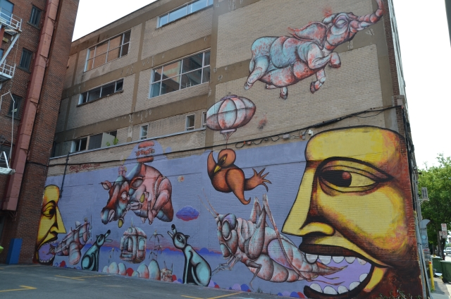Labrona for Art mural montreal