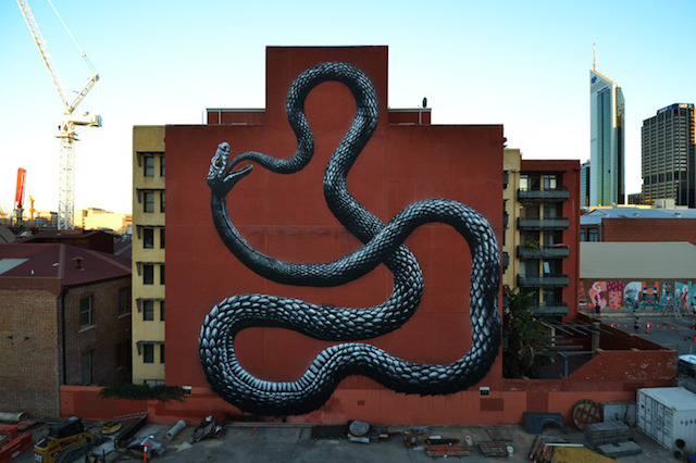 ROA - Photo by ROA