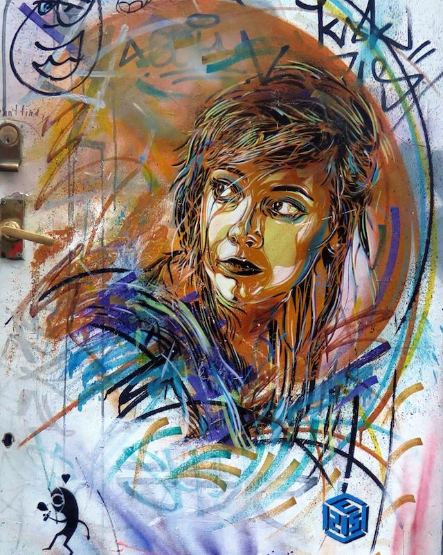 French artist C215