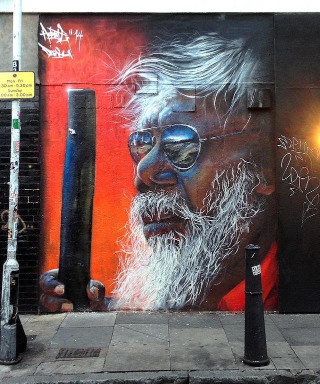 Australian artist Matt Adnate