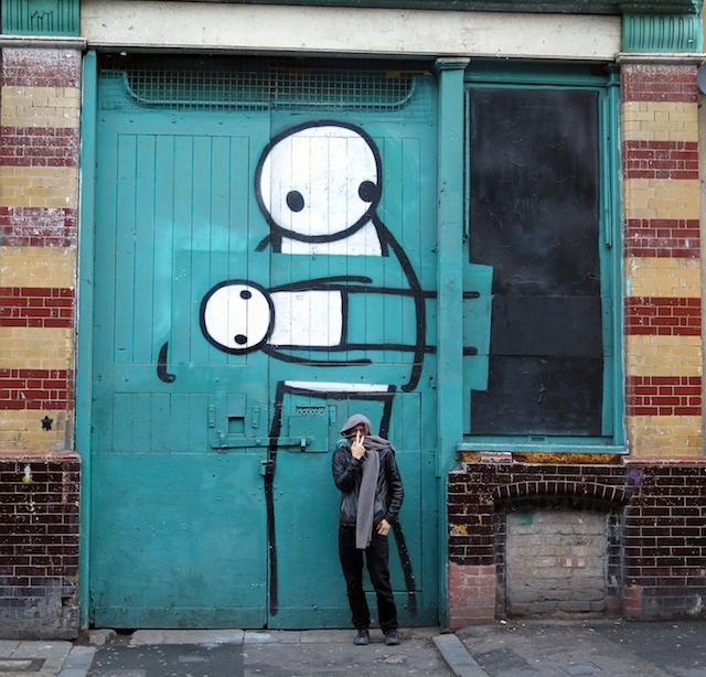 Local artist Stik