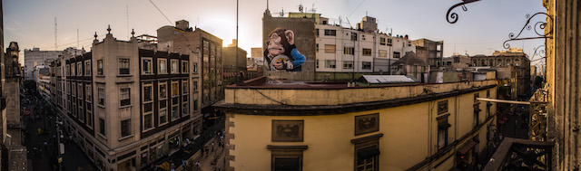 Ericailcane's mural. Click to view large. Photo by RexisteMX.