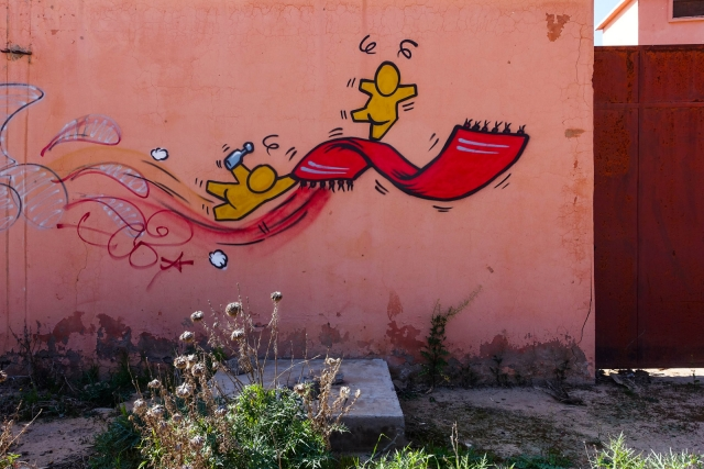 Le Jardin Rouge Vandalog A Street Art Blog