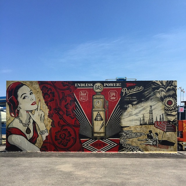 Shepard Fairey. Photo by RJ Rushmore.