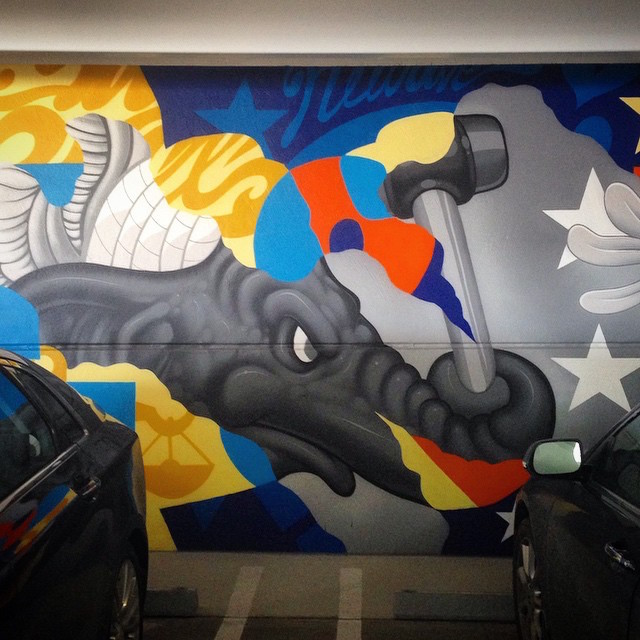 Tristan Eaton (detail). Photo by RJ Rushmore.