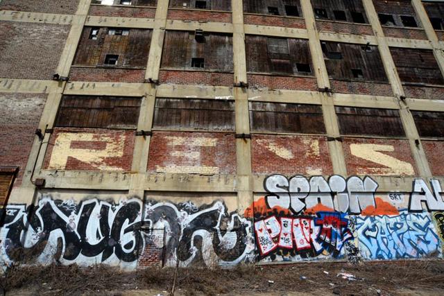 Fuckin Revs, Augor, Par, Tnt, Spain, and Caze. April 2014. Photo by Martha Cooper.