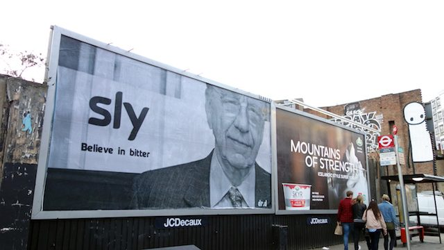 Sky TV Billboard